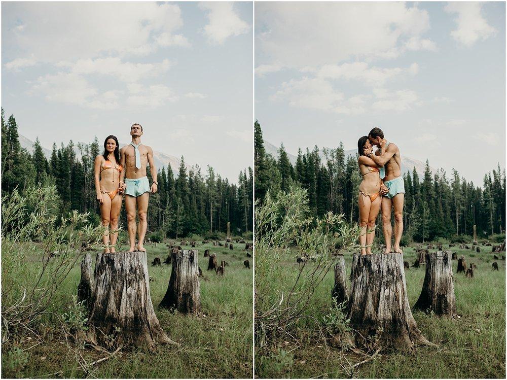 Mount Rainier National Park Wedding,Washington Adventure Wedding Photographer