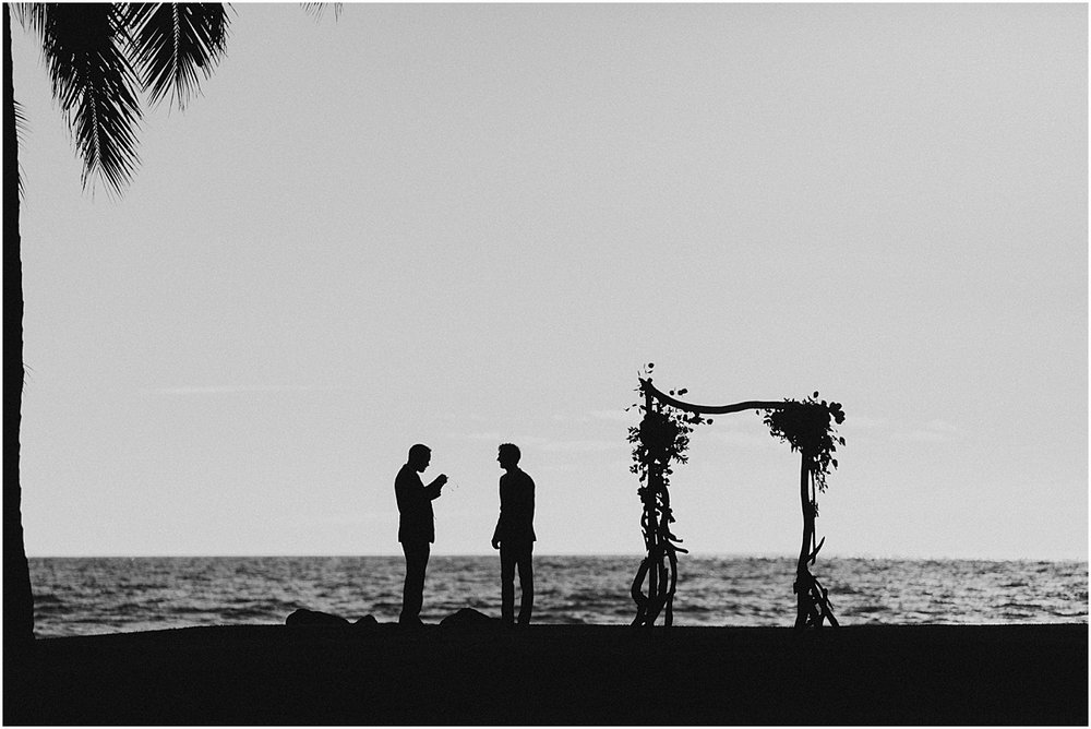 intimate maui wedding at olowalu plantation house in lahaina, hawaii