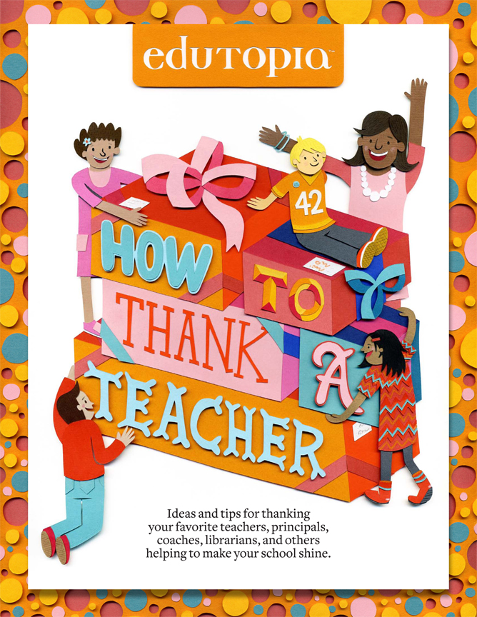 How To Thank A Teacher - Guide Cover