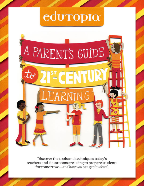 A Parent's Guide To 21st Century Learning - Guide Cover