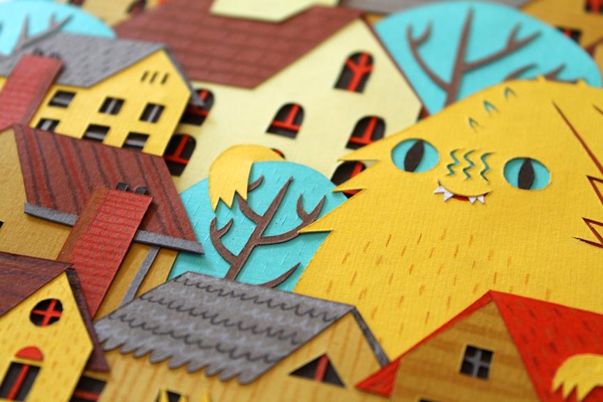 Suburban Home - Detail
