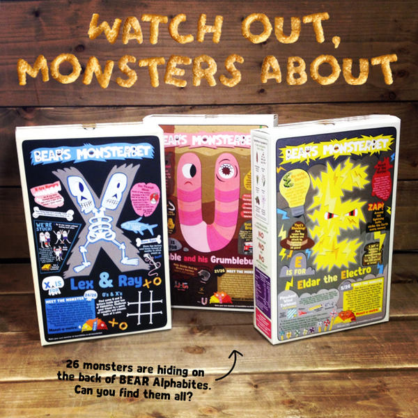 Monsterbet boxes ad
