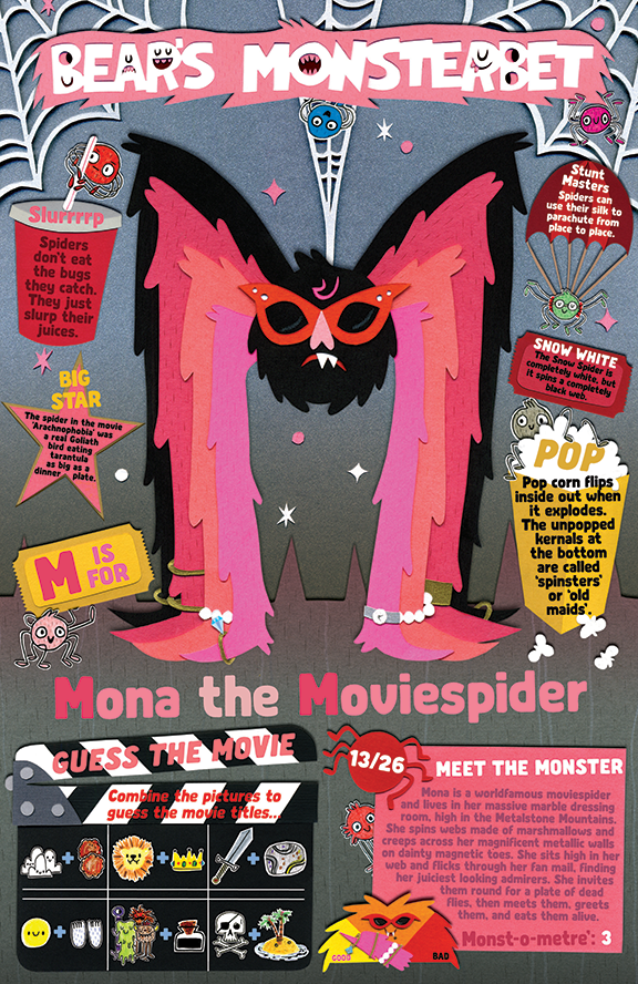 Mona the Moviespider