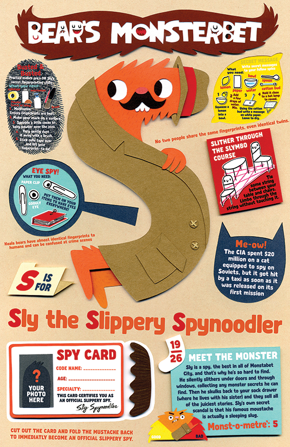 Sly the Slippery Spynoodler