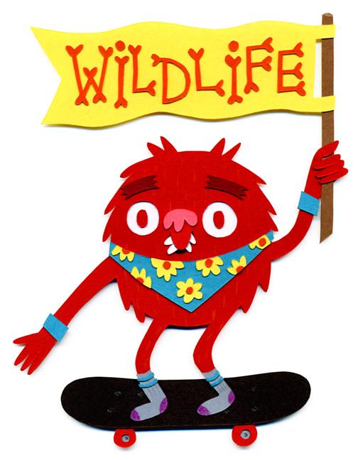 Wild Life Flag