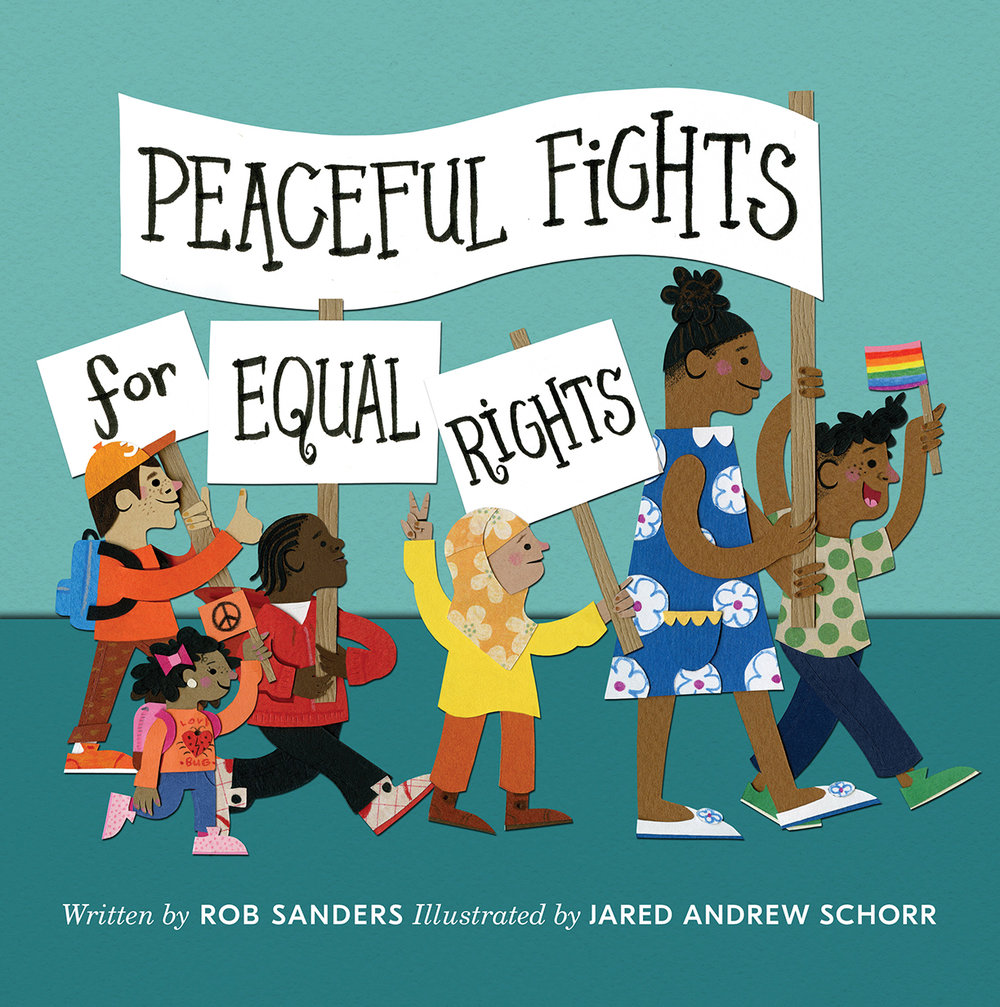 NEW  PEACEFUL FIGHTS FOR EQUAL RIGHTS