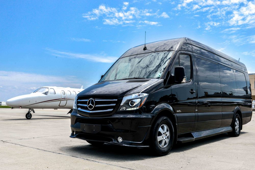 mercedes benz sprinter services lagniappe chauffeured