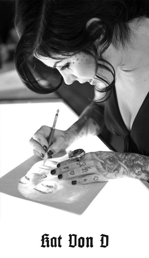 Los angeles tattoo shops high voltage tattoo for How to get tattooed by kat von d