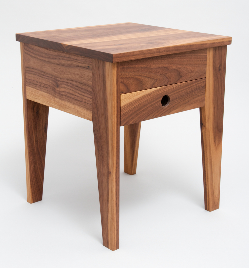 #125 Side Table W/ Drawer