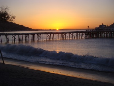 Sunrise at the Malibu Pier with a fabulous surf being surfed upon by lots of surfers. Met Reeca for a Cranio-Sacral session for my shaking hand.  She said I should rule out Parkinson's.   I loved her place, a Harry Potter house.  And I fear I can't rule out Parkinson's Disease.  But maybe Parkinson's is my portal to a miracle.  To keeping my perspective in life.  As I shake so I shake leaving the opening to shake-not. Give attention to the present; give attention to your behavior, to your reactions, moods, thoughts, emotions, fears, and desires as they occur  in the present. If you can be present enough to watch all those things, not critically or analytically but non-judgmentally, then you are dealing with the past and dissolving it through the power of your presence.   You cannot find yourself by going into the past. You find yourself by coming into the present. …Eckhart Tolle