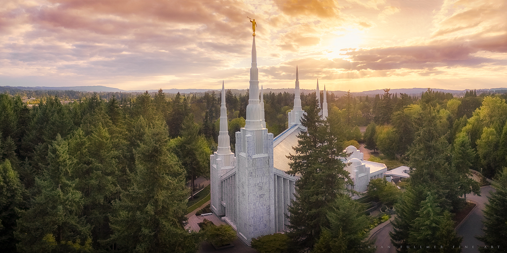 Portland Oregon Aerial
