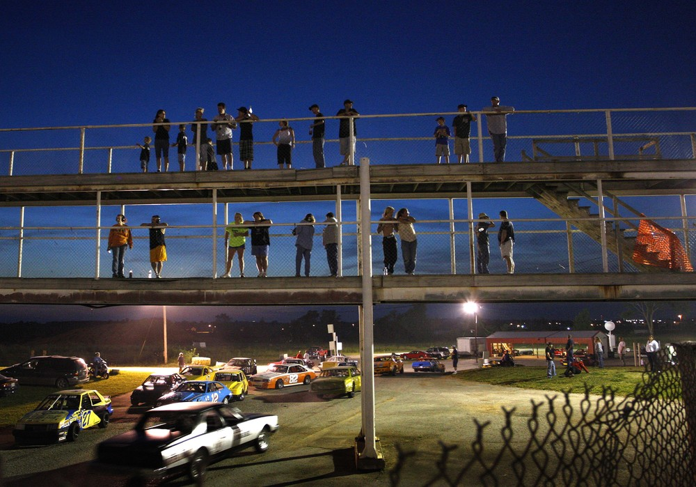 Stock Car racing in Bolivar, Missouri