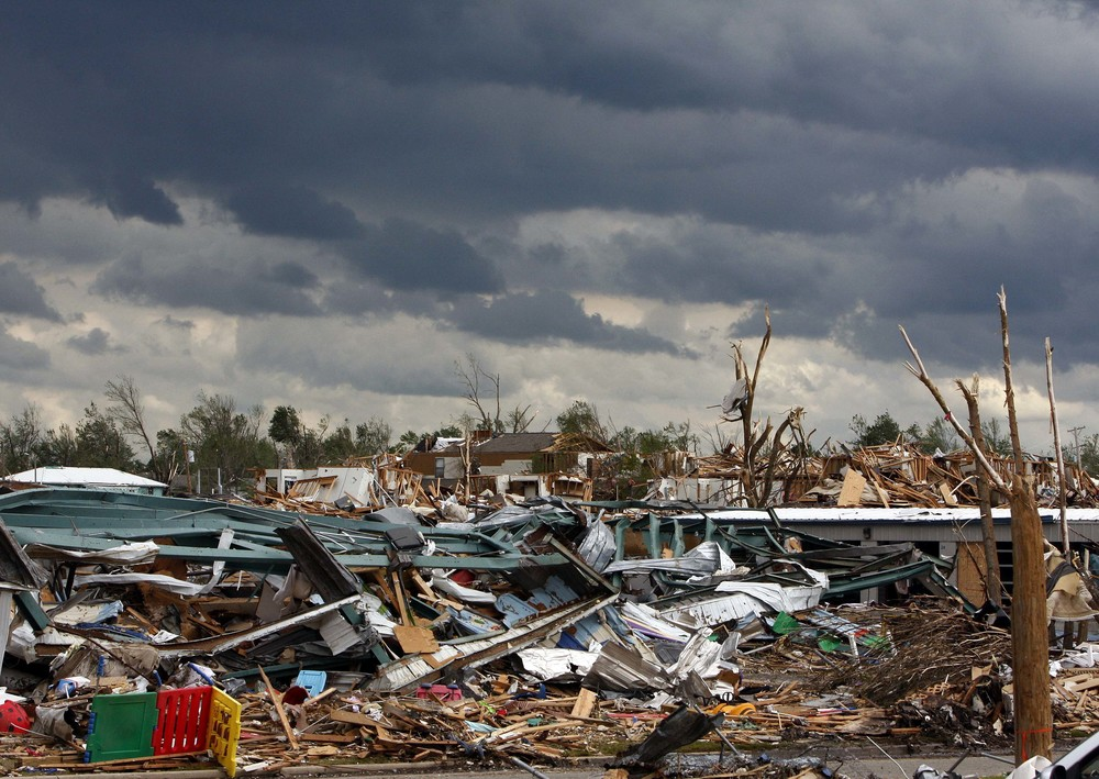 Day Care Center after the Joplin Tornado - May 2011