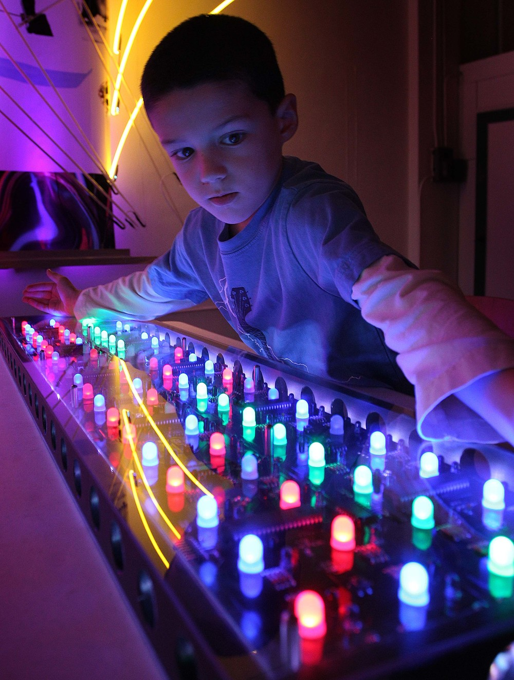 LED Music Machine