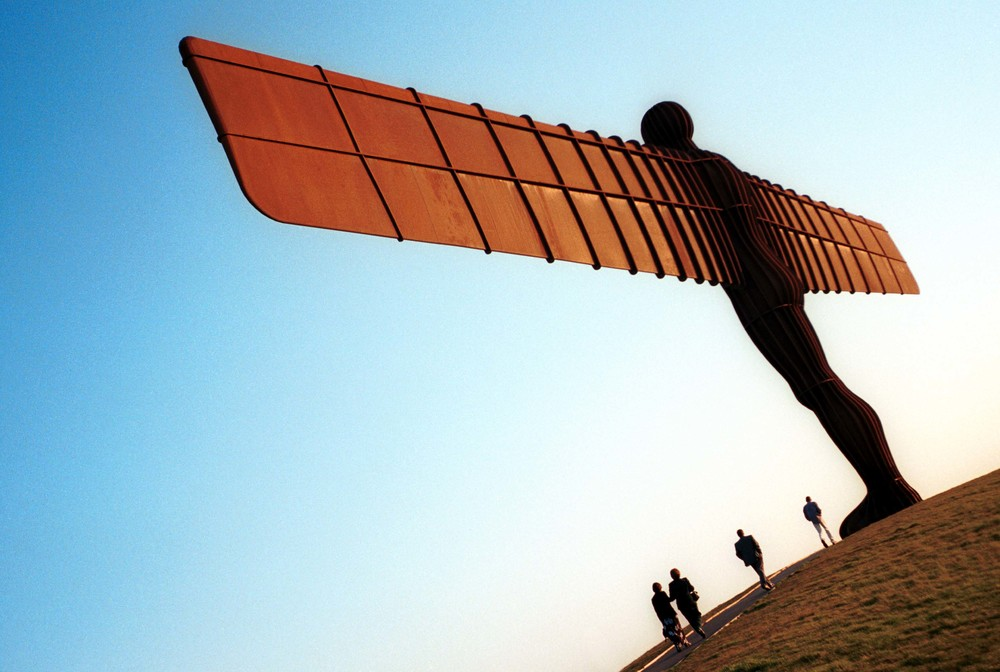 Angel of the North - Gateshead - England