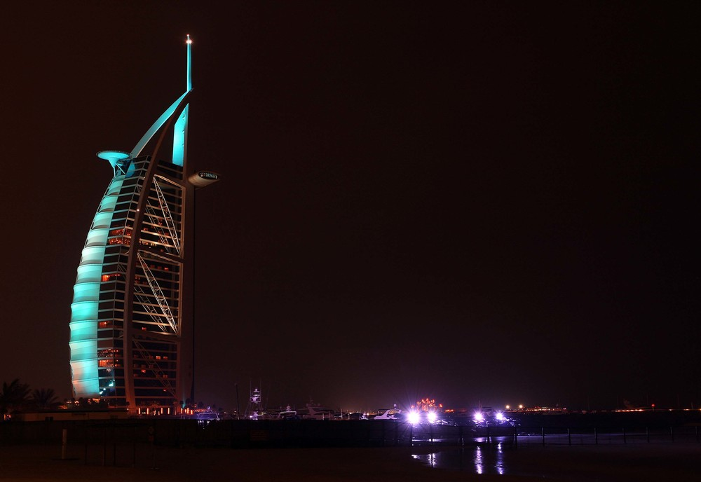 The Burj Al Arab Hotel - Dubai