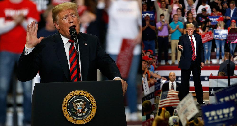 President Donald Trump - September 2018