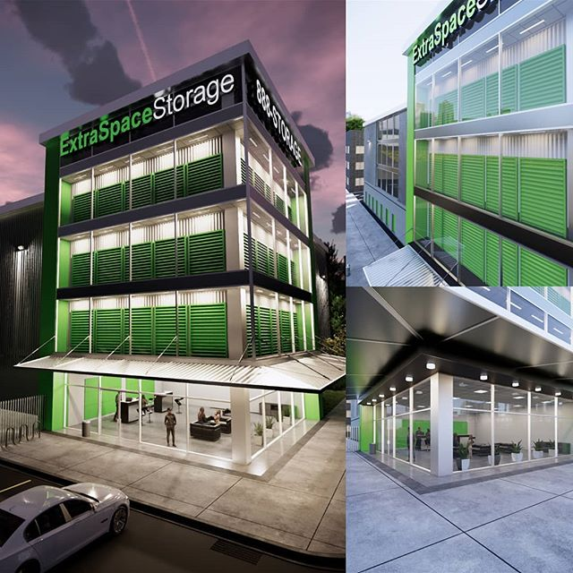 We now provide Rendering and Branding services for both commercial and residential. We are excited to be working with Extra Space Storage!  #rendering #branding #brandingdesign #commercialrealestate #architecture #construction #rebranding #visualization #3drender #photorealism