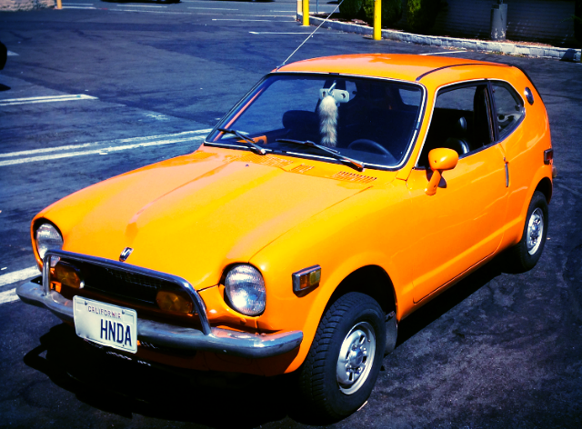 This 1971 Honda is highly collectible, but you wouldn't know it by just looking at it. In the '70s these cars were everywhere, but today only a small inventory of them survived the wrecking ball.