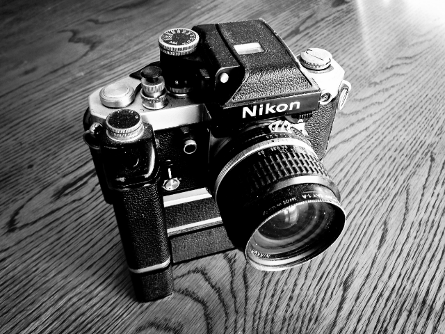 My dusty old Nikon, still used today. No batteries required!