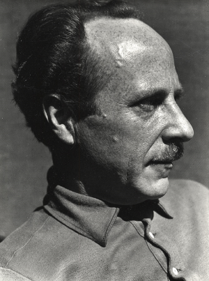 A portrait of Edward Weston, perhaps one of the best known early photographers, and a contemporary of Ansel Adams.