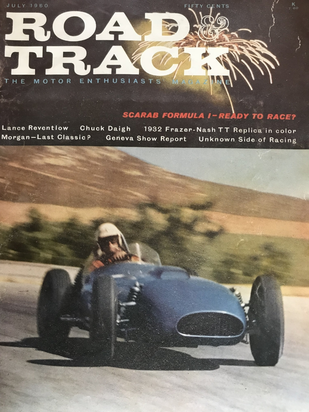 Road & Track published a detailed story on Lance Reventlow many years ago... fortunately the issue was still available on eBay. -