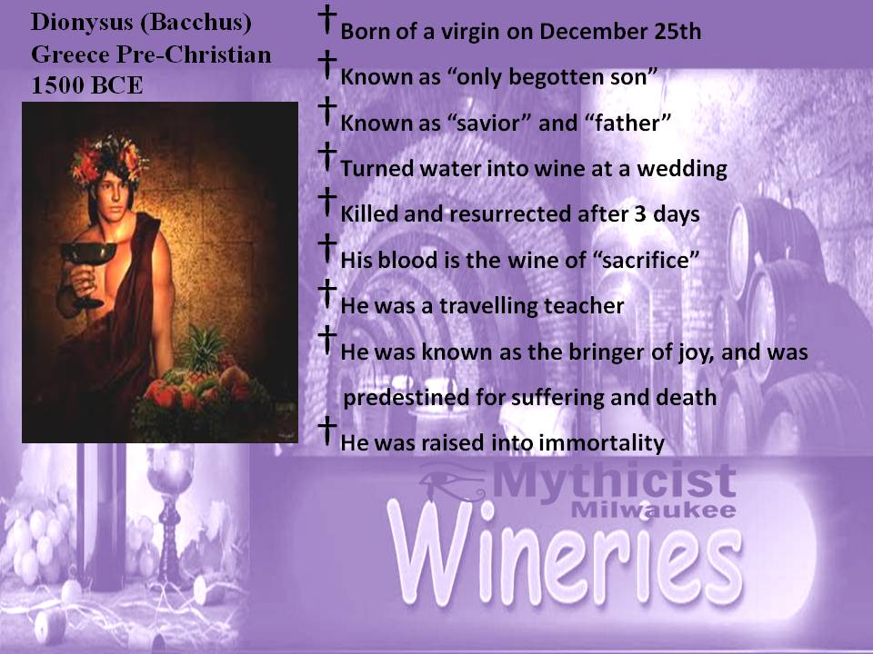 Dionysus Jesus Parallels Mythology Religious Parallels.jpg