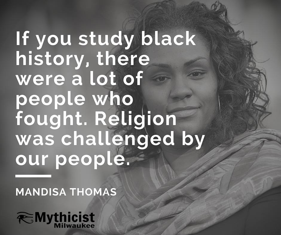 Mandisa Thomas mythinformation conference