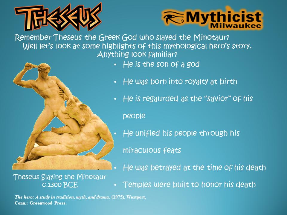 Theseus Jesus Parallels