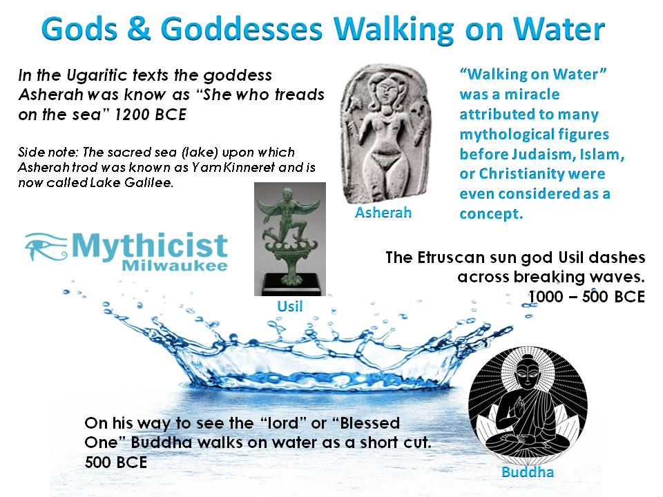 Asherah Walking on Water