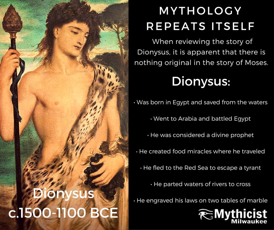 Dionysus Dionysis Moses Jesus Christ Myth Theory