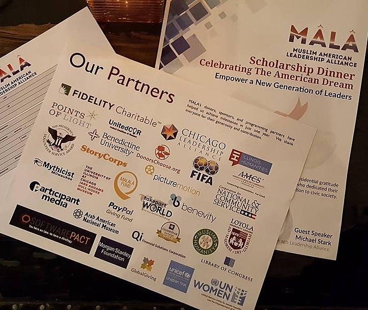 Mythicist Milwaukee proudly sponsoring MALA alongside the likes of UN Women, DonorsChoose.org, Chicago Leadership Alliance, Global Giving, Loyola University, Arab American National Museum, MALALA Fund, United Coalition for Reason, Morgan Stanley Foundation, Unicef and more.