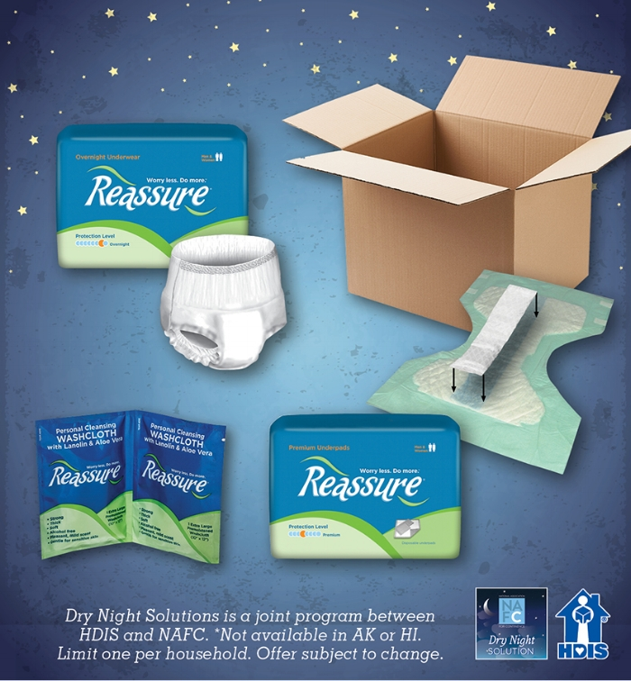 Dry Night Solution For Adult Bedwetting