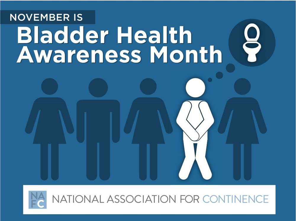 Click the image above to download it and share it with your followers to help spread awareness about bladder health!
