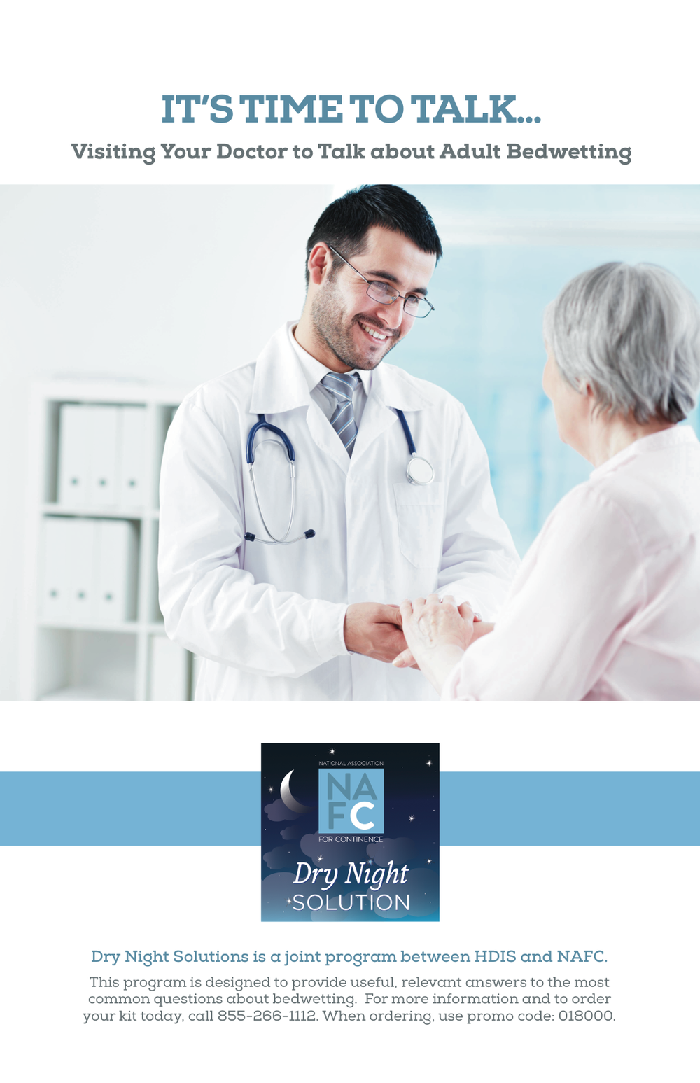 NAFC Guide To Talking To Your Doctor About Bedwetting