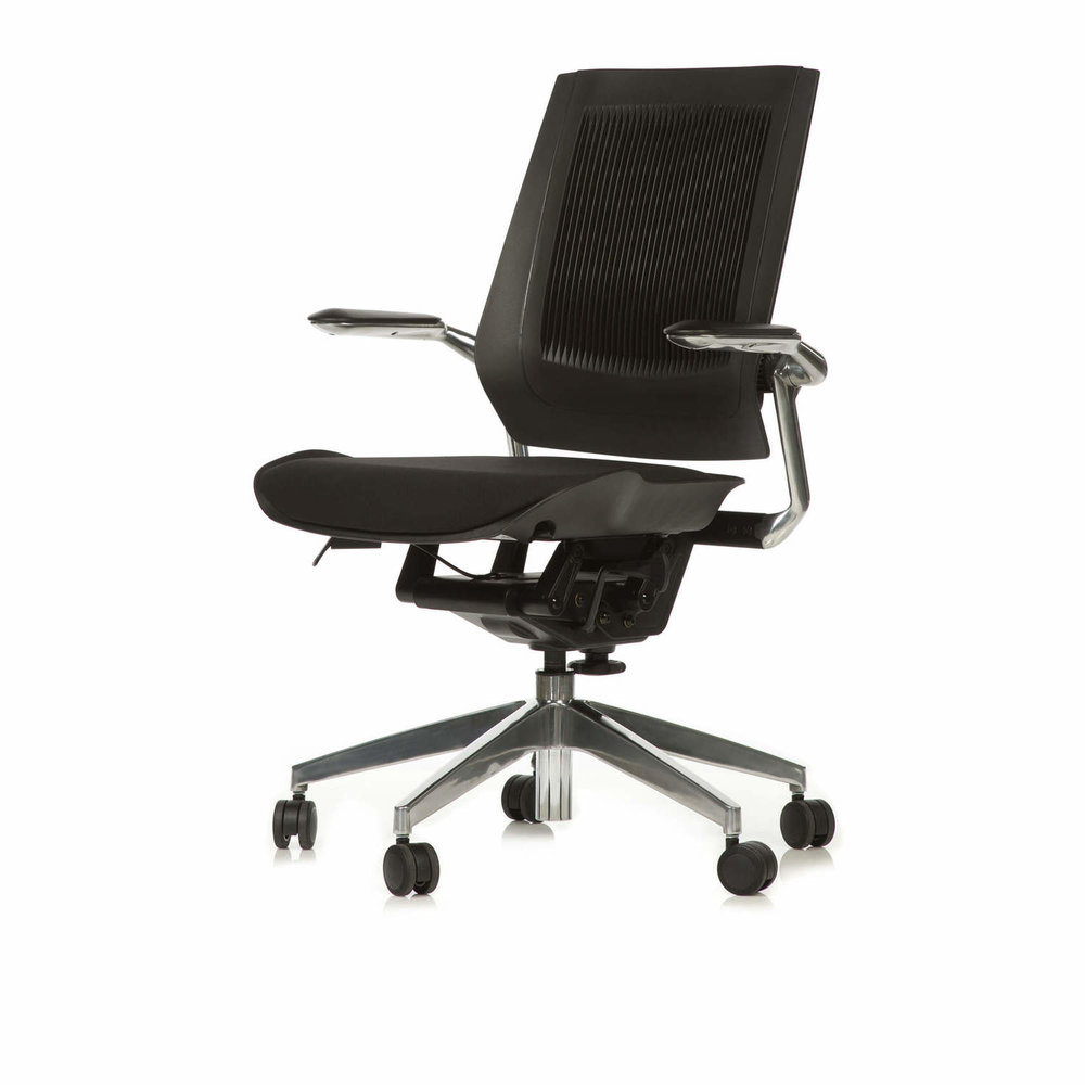 Seating - RJ offers a wide range of task and executive seating options suitable to most modern workplace environments and budgets. Ergonomically designed for employee wellbeing, all Task/Executive chairs come with the confidence of a five-year warranty.