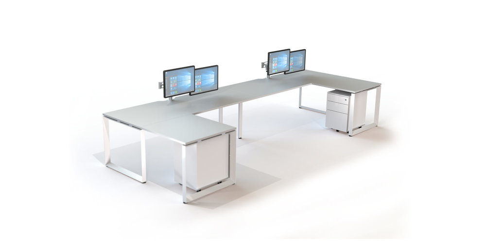 Miki - MIKI is a crowd pleaser with its looped-leg or tradition post steel support frame giving the system an undeniably sleek and minimal profile. MIKI is versatile, easy to assemble and reconfigure, and integrates easily with a wide range of modular cable management components to create a clutter-free workplace. MIKI comes with RJ's ten-year warranty to ensure satisfaction is guaranteed.
