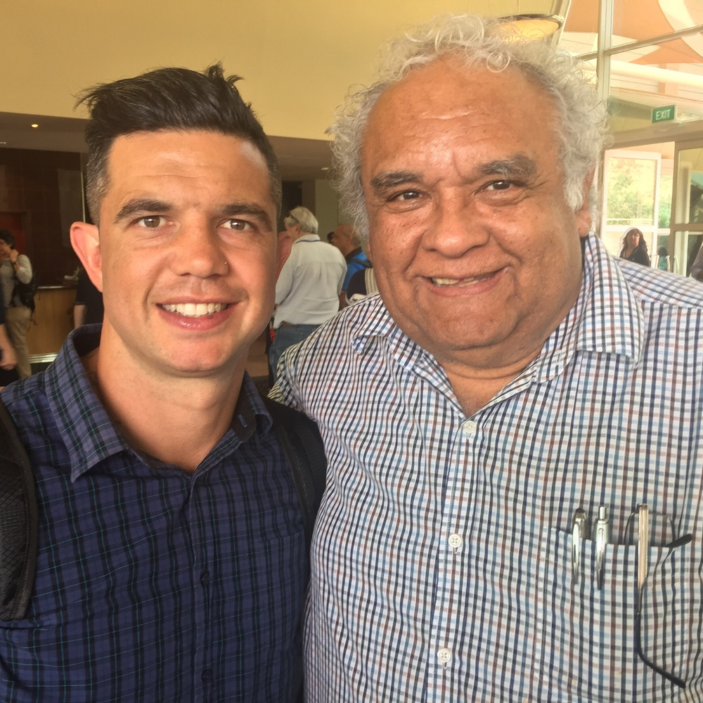 With Uncle Tom Calma