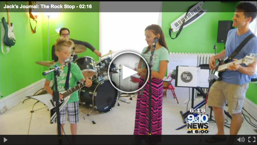 About the Rock Stop - 9&10 News Piece