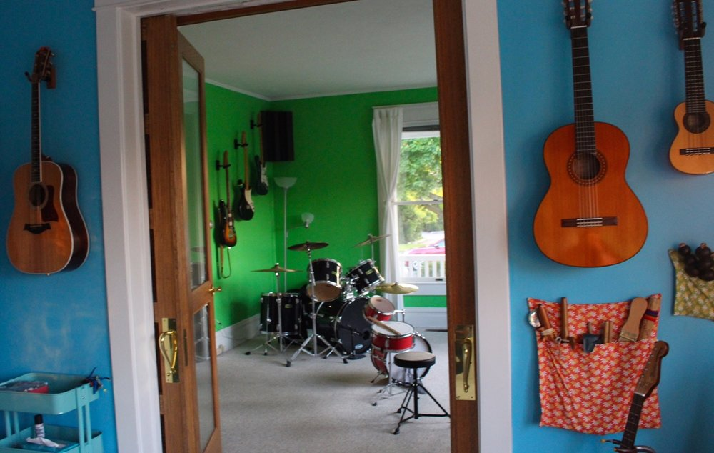 The Rock Stop practice space