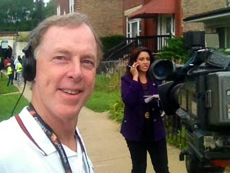 First live shot CBS News  HAPPY, HAPPY, HAPPY ! — Sean O' Conor