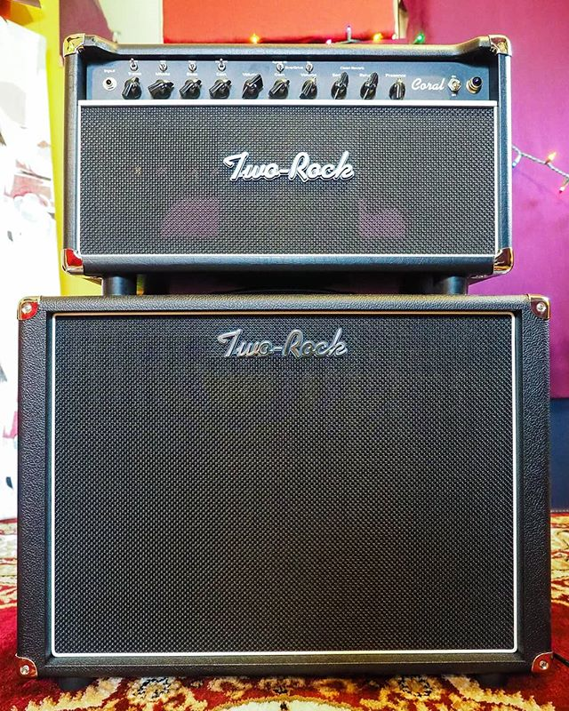 Now the proud owner of a Two Rock amplifier. For those not in the know, these are the Ferrari's of guitar amplification. Stuff of dreams. Been wanting one for 10+ years. Colossal, 3-dimensional cleans and the smoothest, most singing overdrive I've ever heard, a la Dumble ODS. This is a 40w Coral with 6V6s and solid state rectification going into a Celestion G12-65. Glorious. . . @tworockamplification #tworock #guitaramp #dumble #guitar #amp #amplifier #cab #1x12 #cleans #overdrive #gearporn #newgear #toneheaven #esoteric #recordingstudio #recording #poprock #indie #pop #popmusic  #indiemusic #dcmusic #dmvmusic #dmvmusicians #skylinehotelmusic