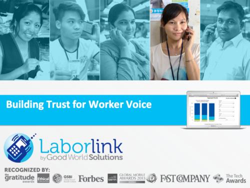 Good World Solutions: Laborlink