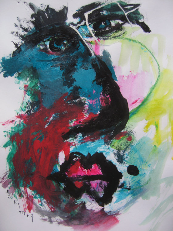 Abstract Face by Seon-Jeong Kim