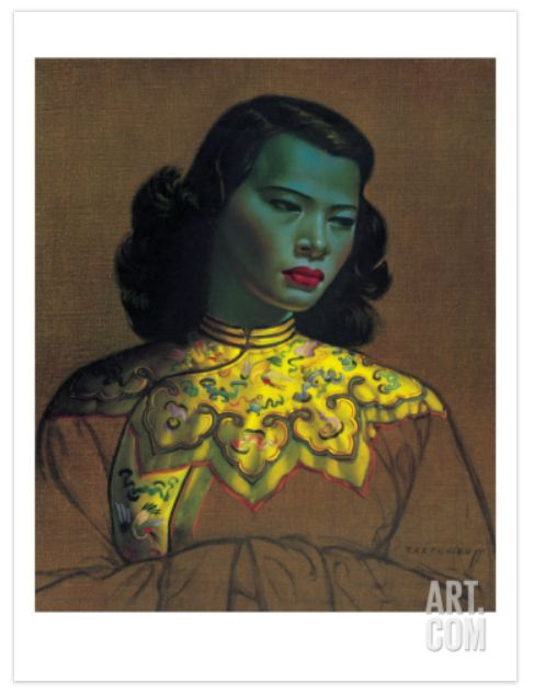 """Chinese Girl"" by Vladimir Tretchikoff"