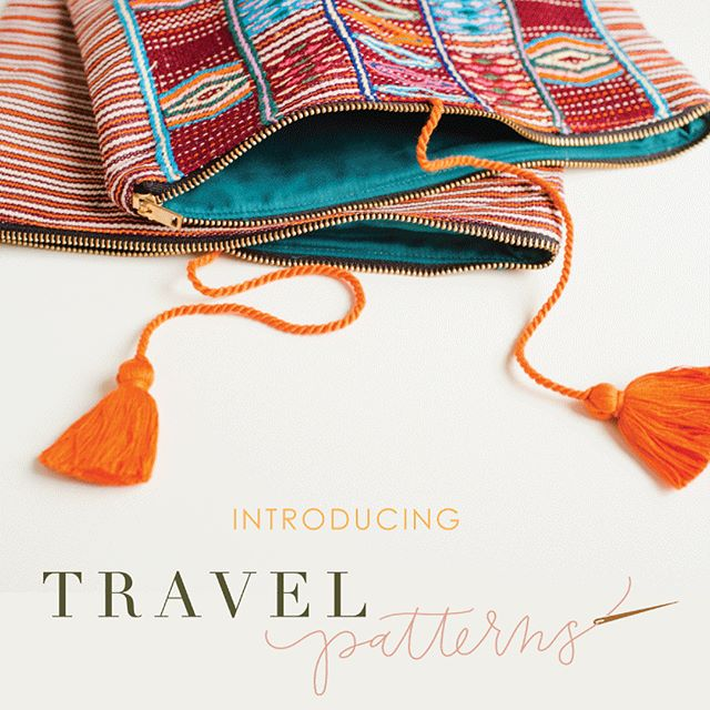 Friends, our secret is out! We're proud to introduce Travel Patterns (@shoptravelpatterns), a collection of globally inspired travel accessories for you, the well-traveled woman.  We've been working hard behind the scenes with our artisan partners and we're so excited to finally make it public. The first patterns will be available for purchase later this fall. Scroll to see some peeks of the new products and be sure to check out the new website and join our newsletter so you don't miss the launch!