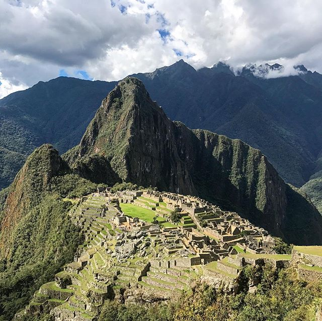 We were blessed with the most amazing October weather at #MachuPicchu this week.  Worth every step you had to climb.