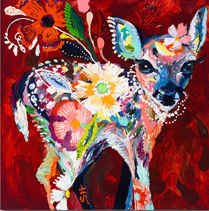 """Dreamy Fawn"" Click on the picture for Limited Edition Print."