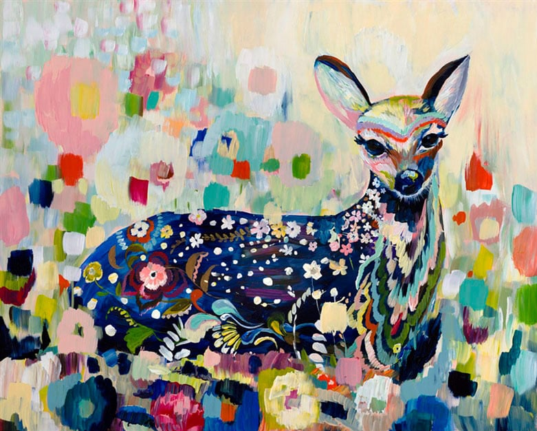 """Meadow Fawn"" Click on the picture for Limited Edition Print."