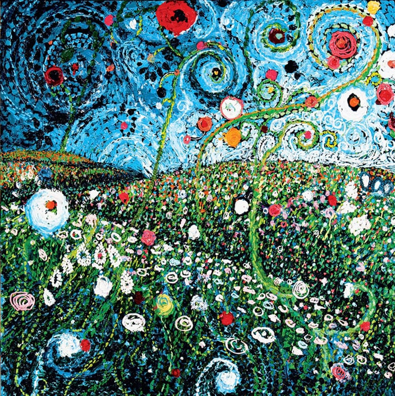 """Field of Bright Spots"" Click on the picture for Limited Edition Print."